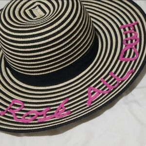 69540f8b August Hats Perfect for summer. $16.00 $28.00. NWT Rose All Day Floppy Hat